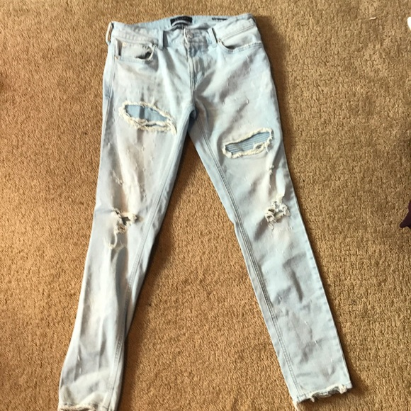 Pacsun Jeans Ripped Skinny Light Blue Poshmark,Low Budget Backyard Desert Landscaping Ideas On A Budget